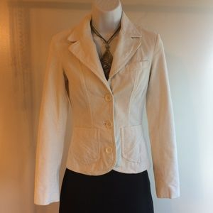 Cream Corduroy Jacket Sz 2